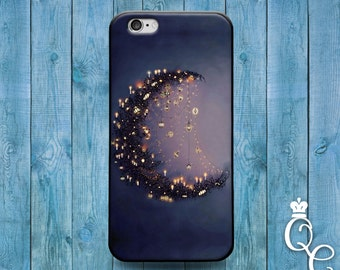 iPhone 4 4s 5 5s 5c SE 6 6s 7 plus iPod Touch 4th 5th 6th Gen Lunar Moon Cover Cute Artistic Lantern Light Night Custom Girly Cool Case
