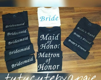 Bridal Party Set