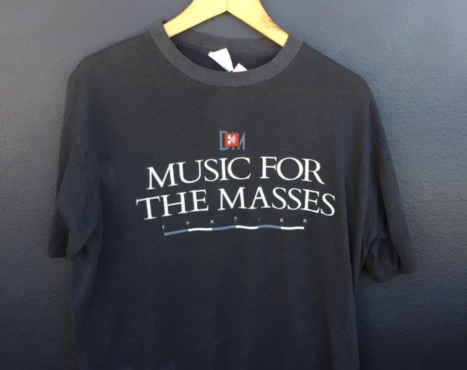 Depeche Mode 1987 vintage Tshirt