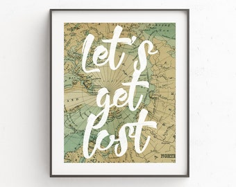 Gallery Wall Print | Travel Print | Travel Quotes