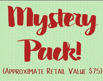 Mystery Box - Mystery Pack - Surprise Grab Bag - Box of Joy - Random Surprise - Subscription Box - Mystery Gift Box - Treat Yourself Box