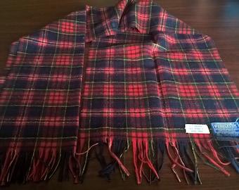 Vintage Pendleton Wool Scarf  **FREE SHIPPING**