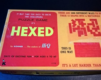 Vintage Hexed Game - 2 Complete Sets **FREE SHIPPING**