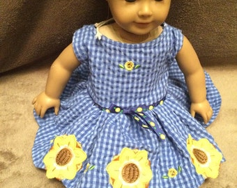 Anerican Girl Doll Dress 18-inch Doll