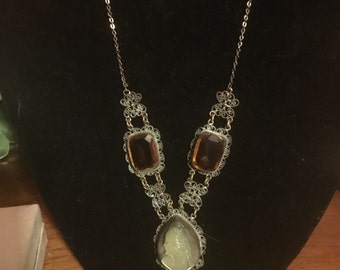 VICTORIAN - ART NOUVEAUHAND crafted Cameo