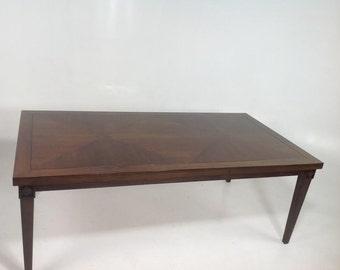 Modern walnut custom dining table     FREE SHIPPING