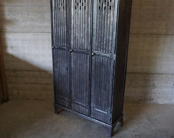 Industrial Vintage Locker by Strafor, 1930s