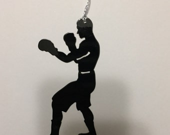 Boxer ornament or magnet