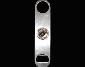 US Marines Bottle Opener - Bronze/Two-Tone