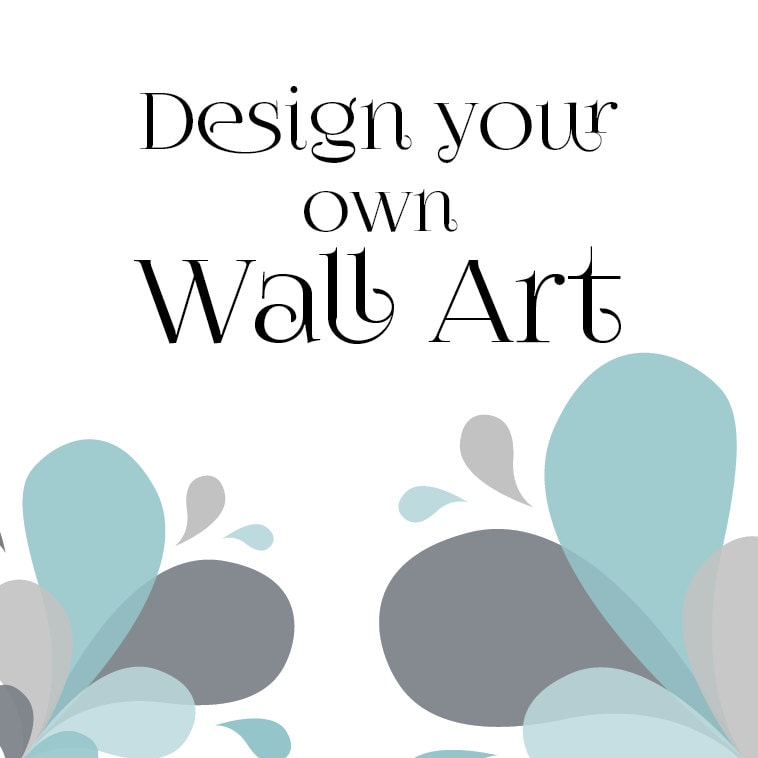 Wall Art Quotes Create Your Own : Design your own wall art or quote completely custom