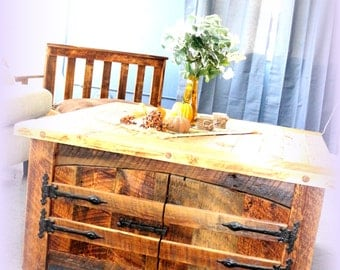 Reclaimed Wood -Square Coffee Table