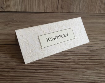10x wedding place cards Alexandria style stationery
