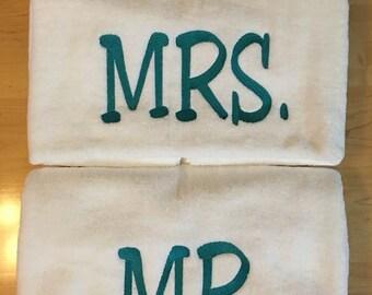 Mr. & Mrs. Bath Towels