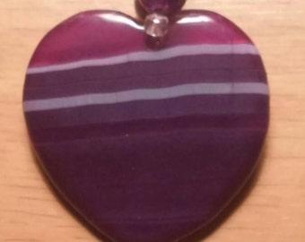 Purple Striped Agate