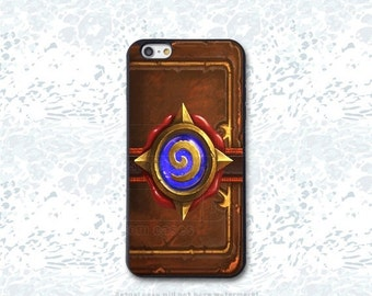 Hearthstone Card Pack Custom Phone Case for iPhone 4/4s, 5/5s, 6/6s, 6/6s+, iPod Touch 5