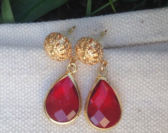 Red earrings, red dangle earrings, red earrings, earrings dangle, red dangle earrings, earrings christmas