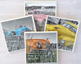 Car Coasters Car Tile Coasters Vintage Car Vintage Automobile Classic Car Classic Automobile Vintage Auto Classic Restored Car Restoration