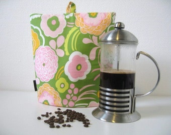 French Press Cosy, Coffee Cosy, French Press Warmer, Coffee Pot Cozy
