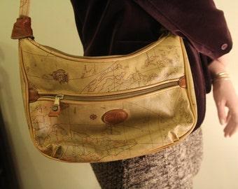 Boho World Map Handbag