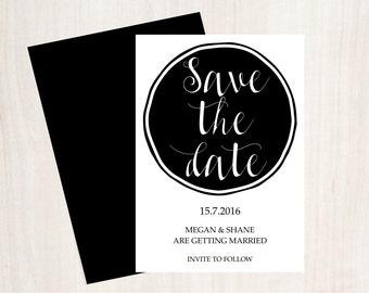 Save the date A6 Design