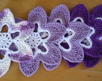 6 Petal Flower Coasters