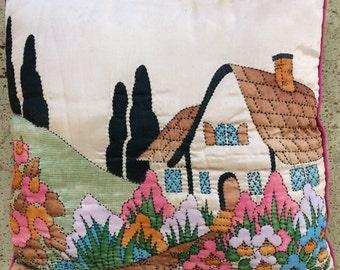 Vintage Cottage Pillow