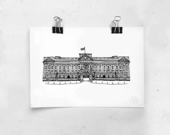 Buckingham Palace - Limited Edition Signed Print