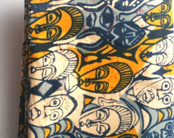 African fabric pocket square