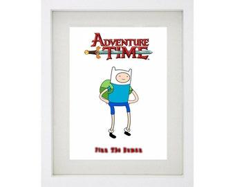 FINN THE HUMAN Framed Art Print Collection - Adventure Time