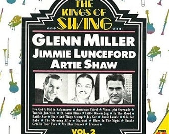 Rare and mint condition! The Kings of Swing, Vol 2 Glenn Miller Jimmie Lunceford Artie Shaw