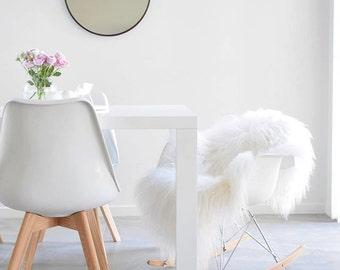 Icelandic Sheepskin Rug - Off White XXL Long,soft wool 2 W X 4 L