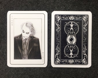 Heath Ledger Joker Card