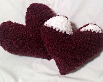 Amigurumi Heart Pillow : Crochet Heart Pillow Crochet Mini Heart by ...