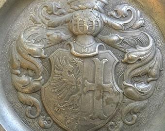 memmingen pewter plate bavaria