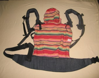 ssc soft structured baby carrier  stripe