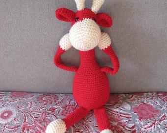 Crochet Giraffe Plush toy Amigurumi