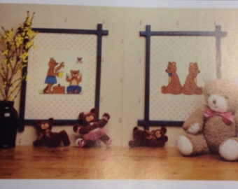 Teddy Bear cross stitch pictures instructions