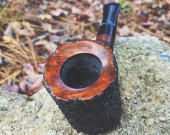 Rusticated Poker Pipe