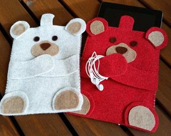 Tablet or Ipad bags-bear-