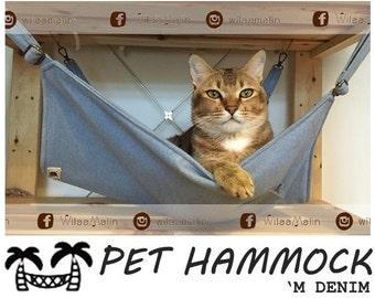 Pet Hammock - 'M DENIM