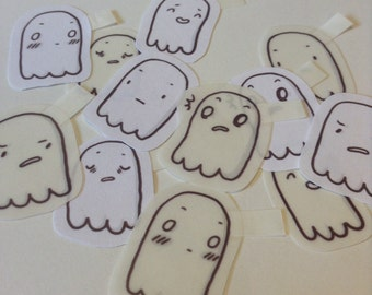 Ghost Pack (Set of 6 Stickers)