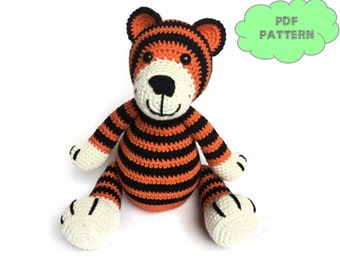 CROCHET PATTERN tiger