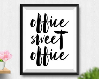 Wall Art For Office office wall art | etsy