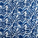 Blue Leaf Printed Indian Pure Cotton Fabric Sewing Apparel Material Dressmaking Upholstery Designer Sewing Indian Fabric By 1 Yard ZBC5644