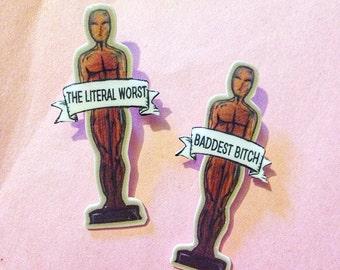 Oscar Statue Pins