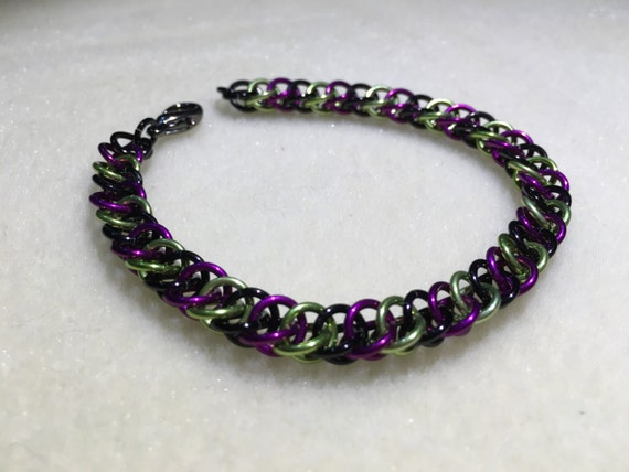 Illidan Inspired Half Persian Chain Bracelet