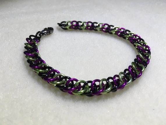 Illidan Inspired Half Persian Chain Bracelet