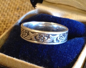 Vintage Sterling Silver Us Air Force Ring By