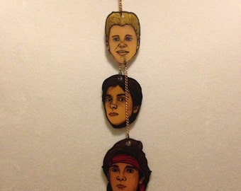 The Lost Boys Frog Brothers & Sam Necklace!