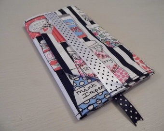 Sweets & Candy Handmade Fabric Passport Cover
